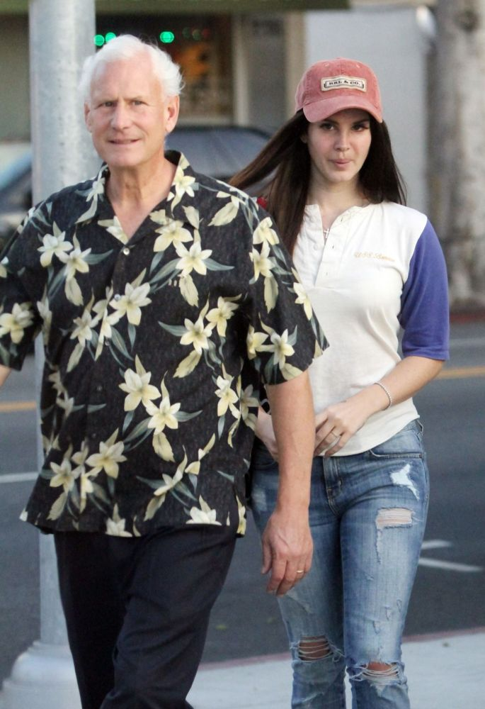 Photo of Lana Del Rey  & her Father  Robert Grant