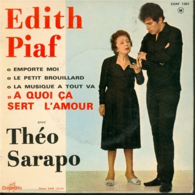 Dith piaf quoi a sert l 39 amour lyrics genius lyrics - A quoi sert l ortie ...