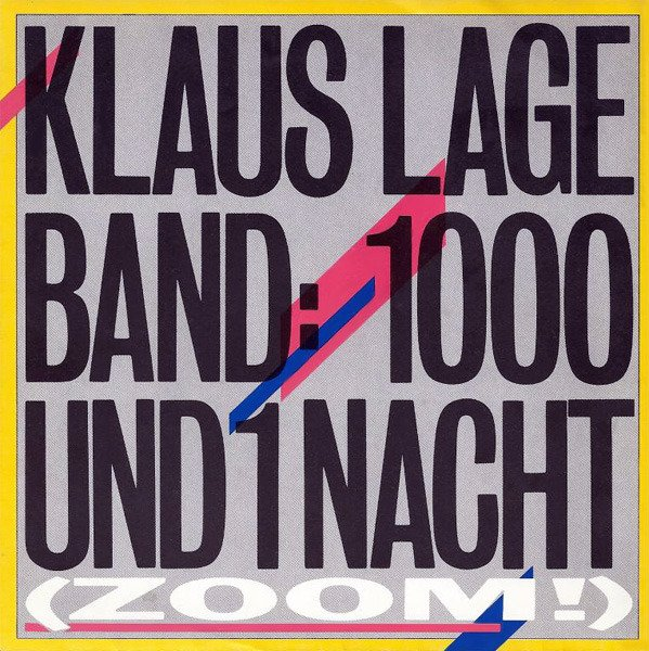 Klaus Lage - 1000 und 1 Nacht [Lyrics] - YouTube