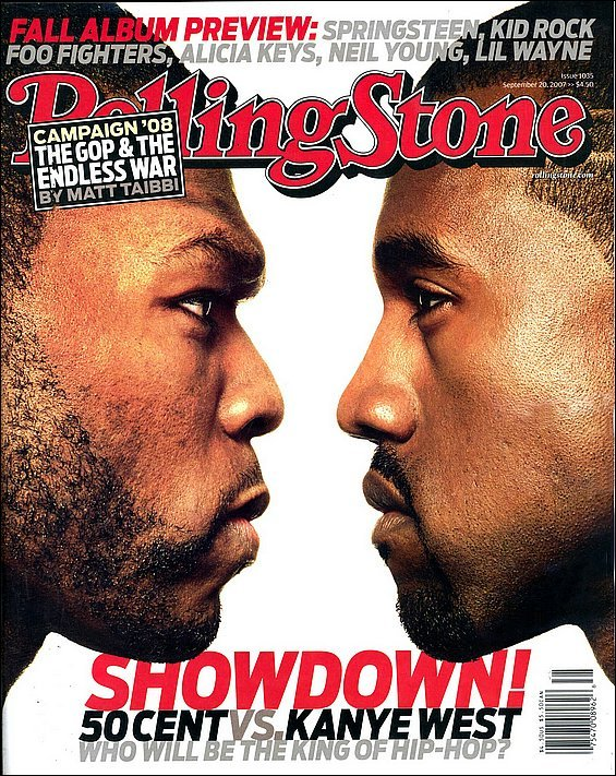 Curtis vs graduation genius if you remember kanye 50 both decided to battle it out on wholl sell more with 50 going to the point that hell retire if he doesnt win the bet malvernweather Images