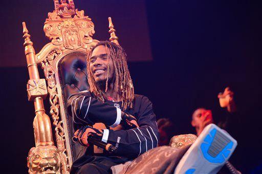 Fetty wap in throne at concert   Genius