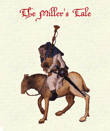 Cover art for The Canterbury Tales: The Miller's Prologue (in Middle English) by Geoffrey Chaucer