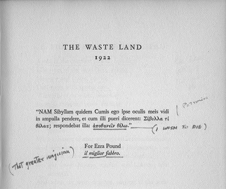 The Waste Land - T.S. Eliot - 1922