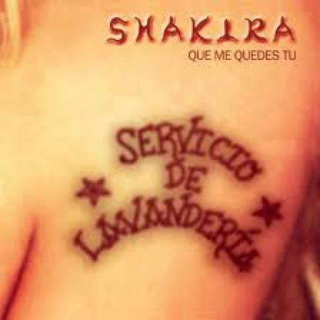 lyrics que me quedes tu shakira: