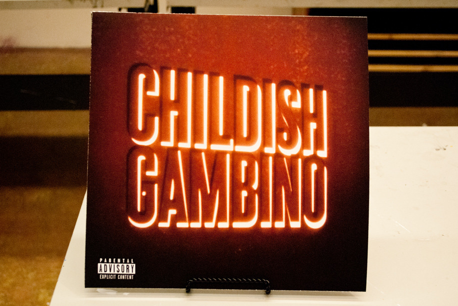 my friend made cover art for childish gambino s camp genius