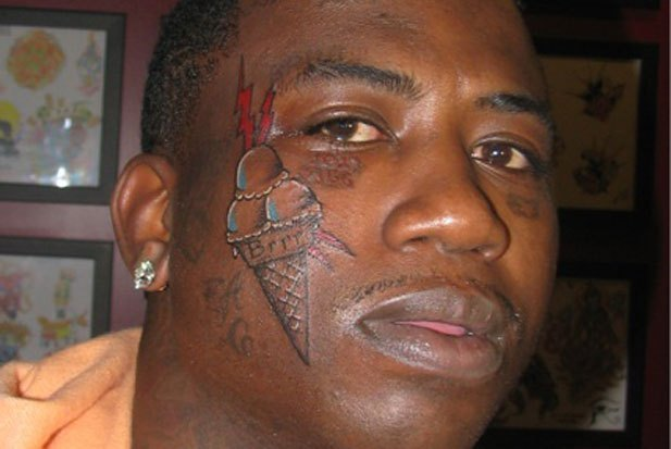 Rapper With Z Tattoed On His Face: Best/ Worst Rapper Tattoos
