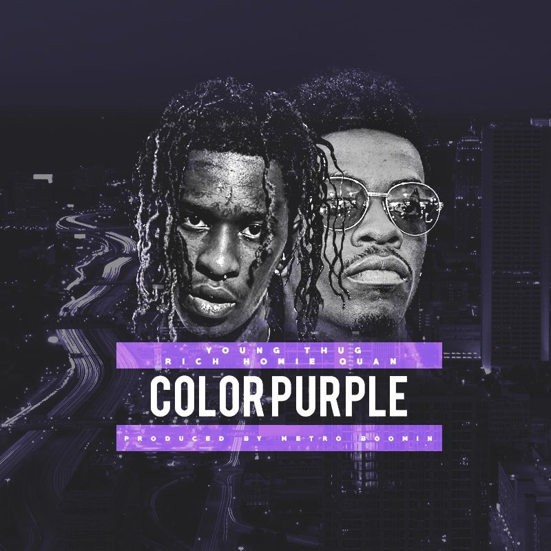 Lyric color purple lyrics : Young Thug – Color Purple Lyrics | Genius Lyrics