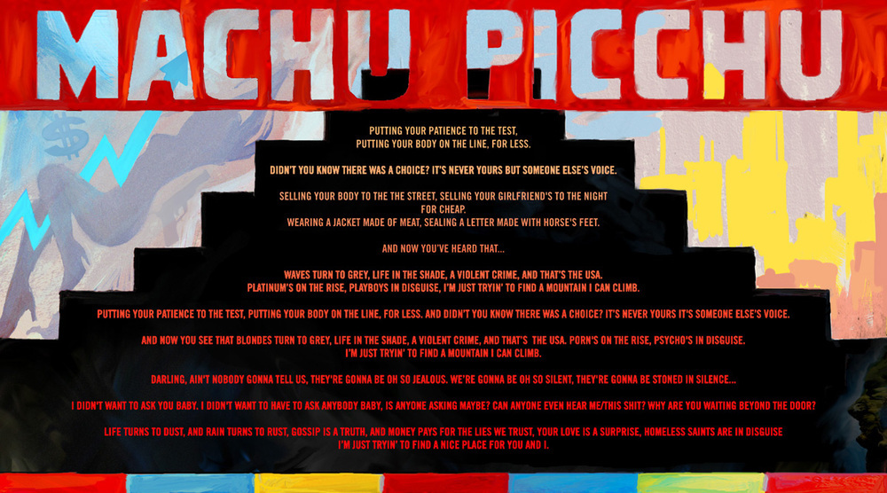 The Strokes – Machu Picchu Lyrics | Genius Lyrics