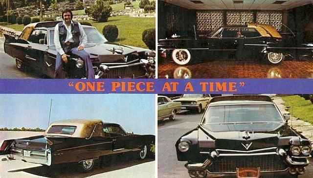 Johnny Cash – One Piece At A Time Lyrics