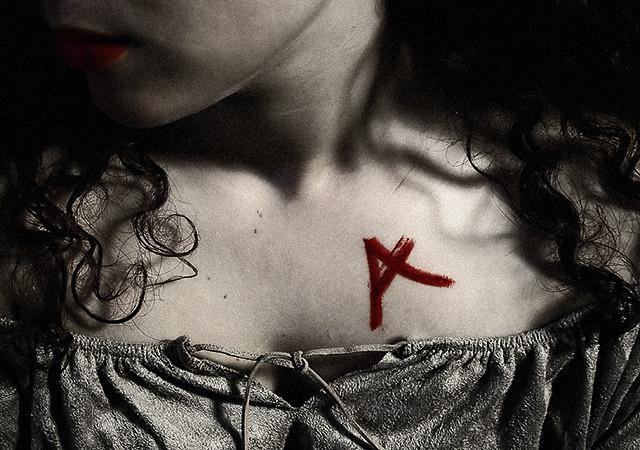 Girl With The Scarlet Letter Lyrics