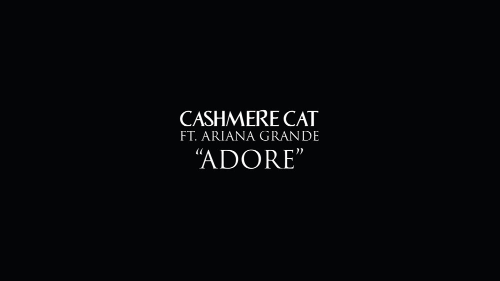 As Cashmere Cat Norwegian Producer Magnus August Høiberg Officially Released Lead Single Adore On March 3 2017 It Ears His Forthcoming Debut Al