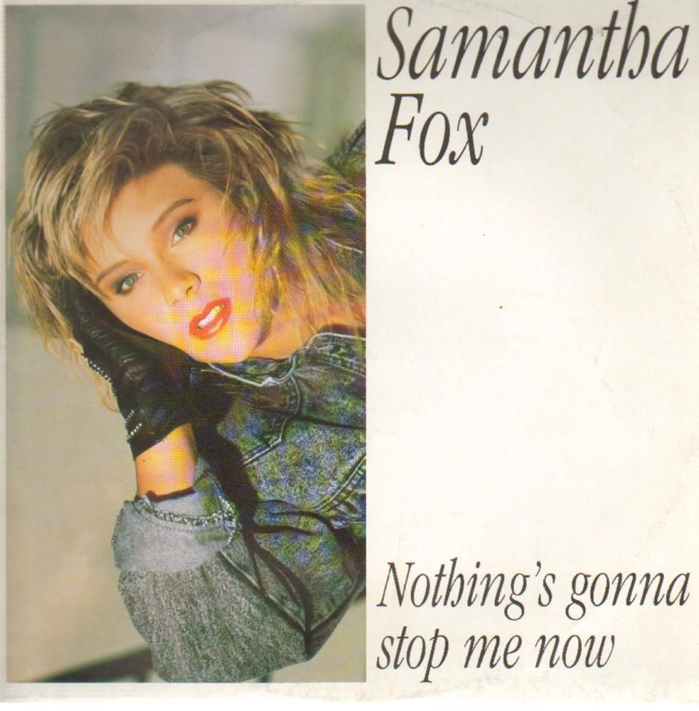 Cover art for Nothing's Gonna Stop Me Now by Samantha Fox