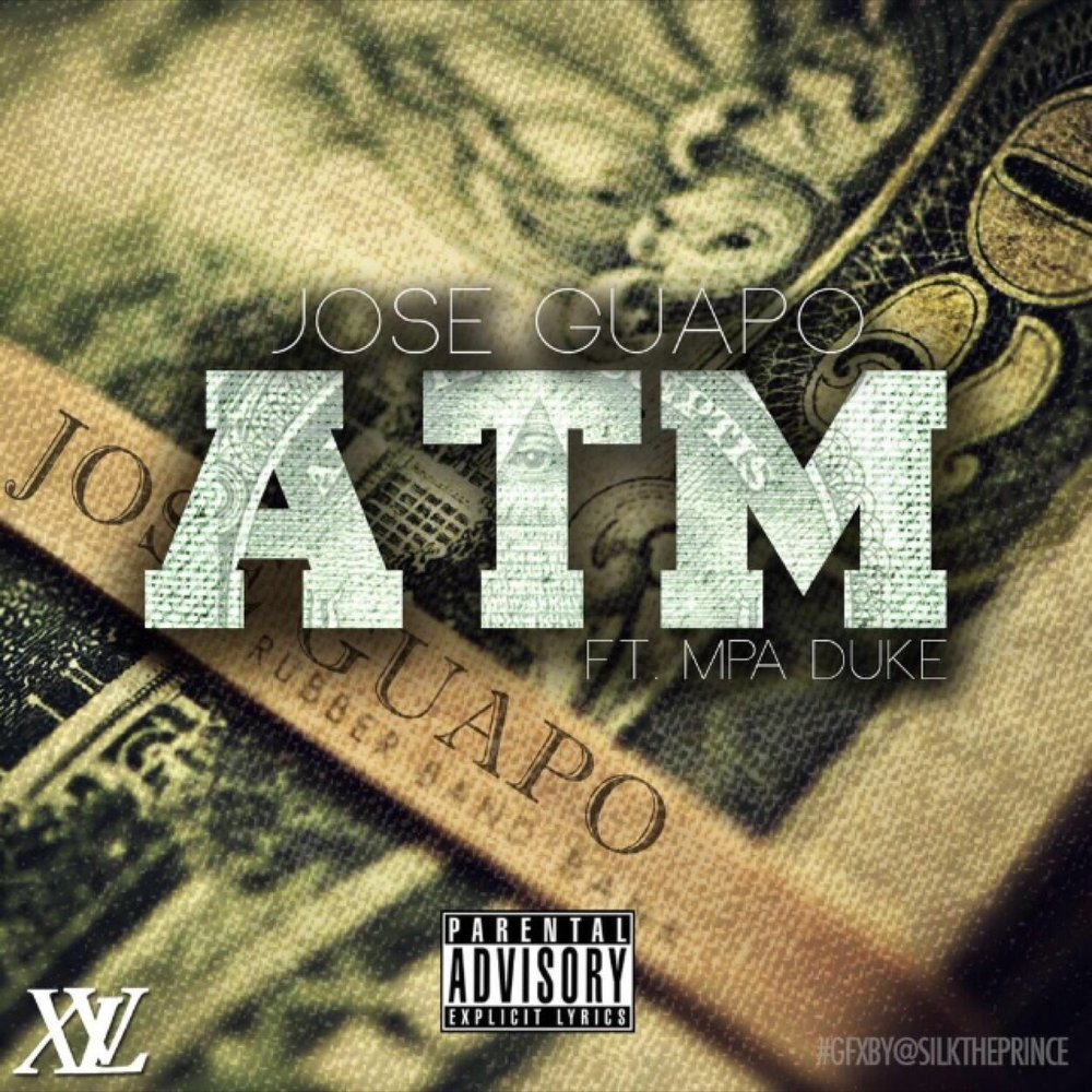 Cover art for ATM by Jose Guapo