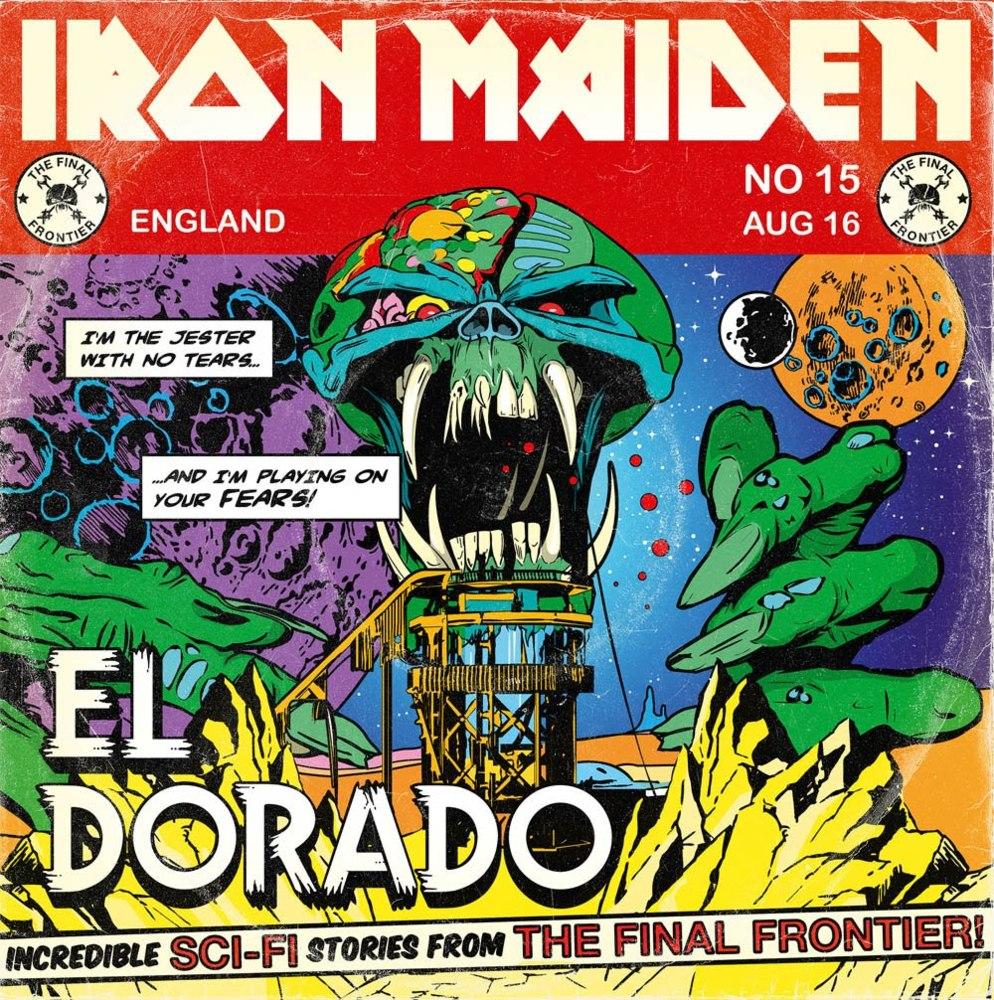 Iron Maiden - El Dorado Lyrics | MetroLyrics
