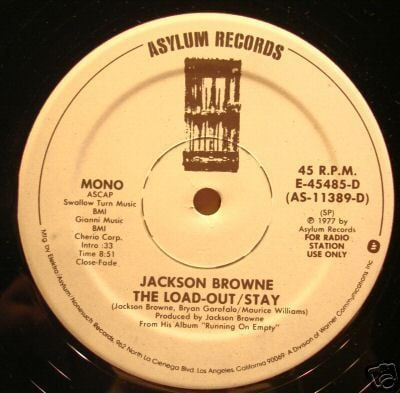 Jackson Browne The Load Out and Stay Live ... - youtube.com