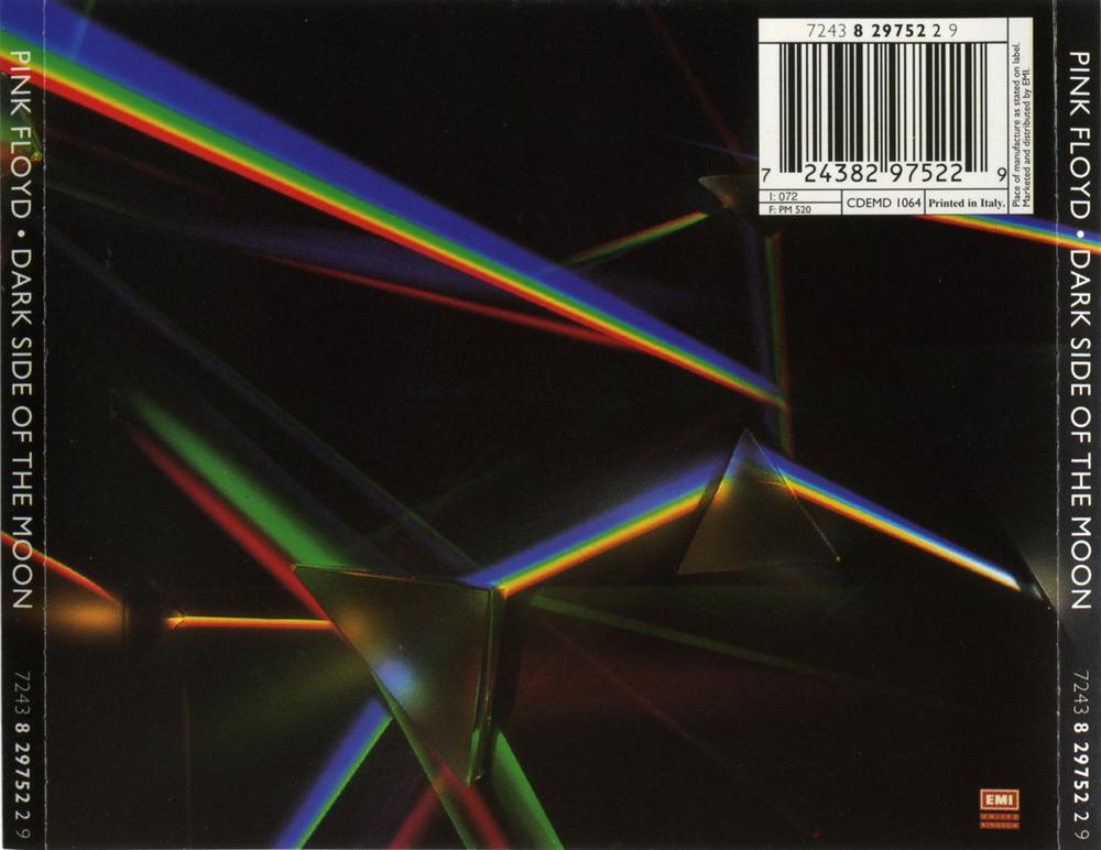 Pink Floyd – The Dark Side of the Moon [Tracklist + Artwork