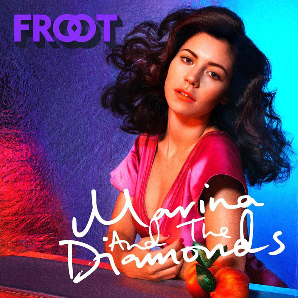Cover art for Froot by MARINA