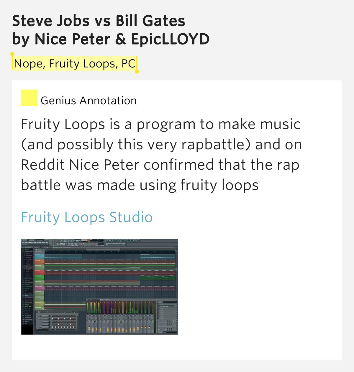 fruity loops reddit