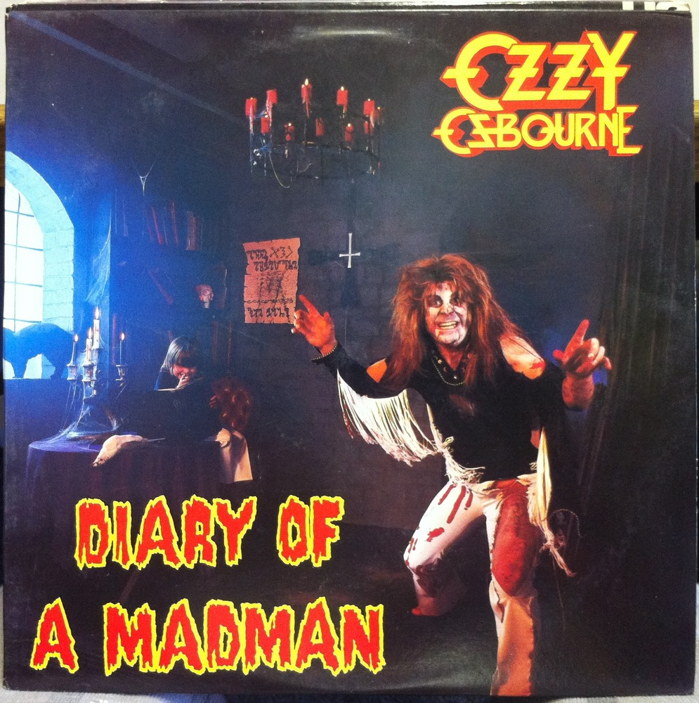 Ozzy Osbourne 1981 Diary of a Madman Diary of a Madman 1981 Ozzy