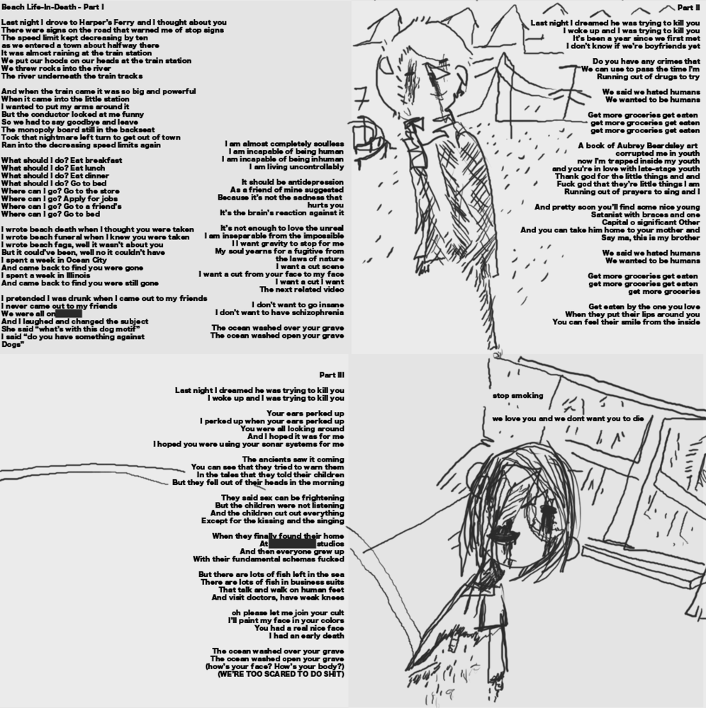 The Picture Is From Included Lyric Sheet
