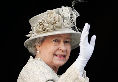 Queen Waving