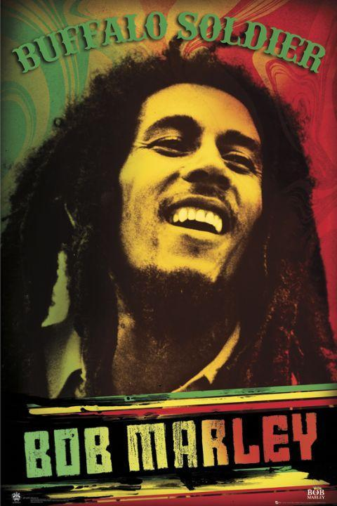 Marley uses the Buffalo Soldiers' fight for survival during the Indian Wars as a symbol of black resistance.