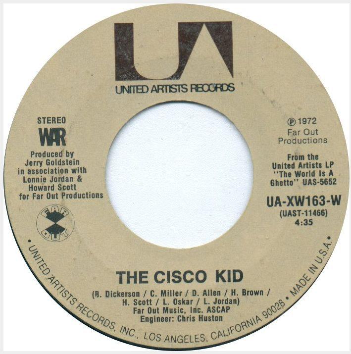 Cisco Kid Was A Friend Of Mine Lyrics