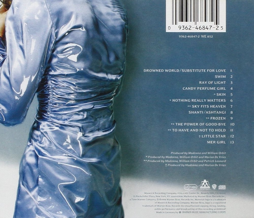 madonna ray of light album cover - photo #12