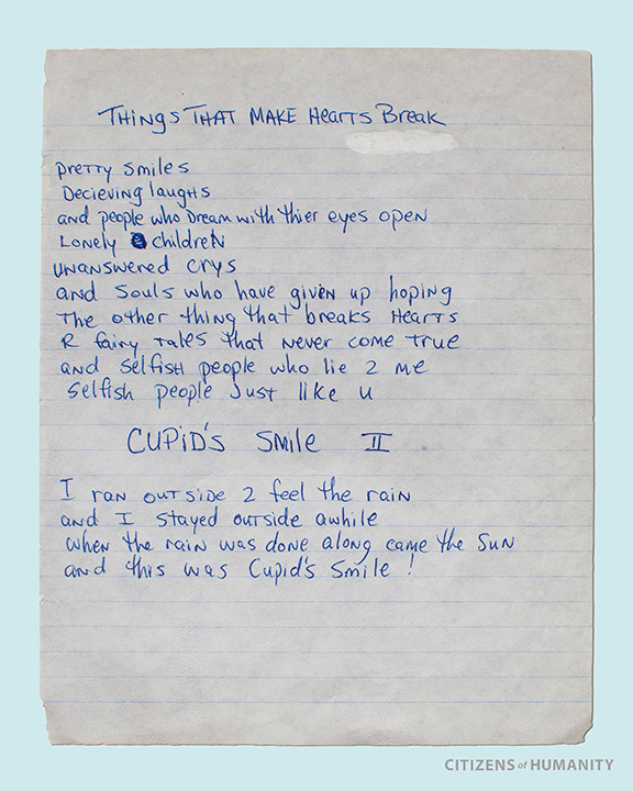poems written by tupac