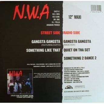 N W A – Gangsta Gangsta (Clean) Lyrics | Genius Lyrics