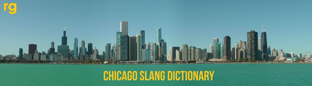 Cover art for Chicago Slang Dictionary by Rap Genius Editors