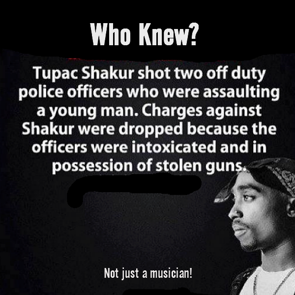 2Pac shot 2 Cops! | Genius
