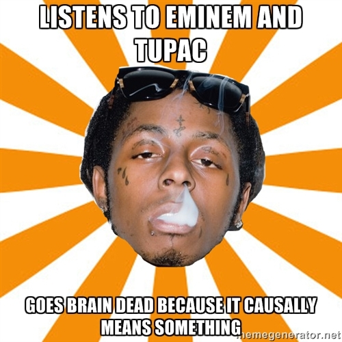 Why do Eminem stans have this make believe 'Eminem vs Lil