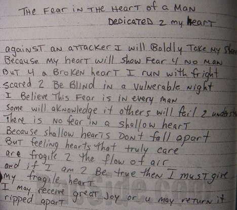 2Pac – The Fear in the Heart of a Man (Dedicated 2 My Heart