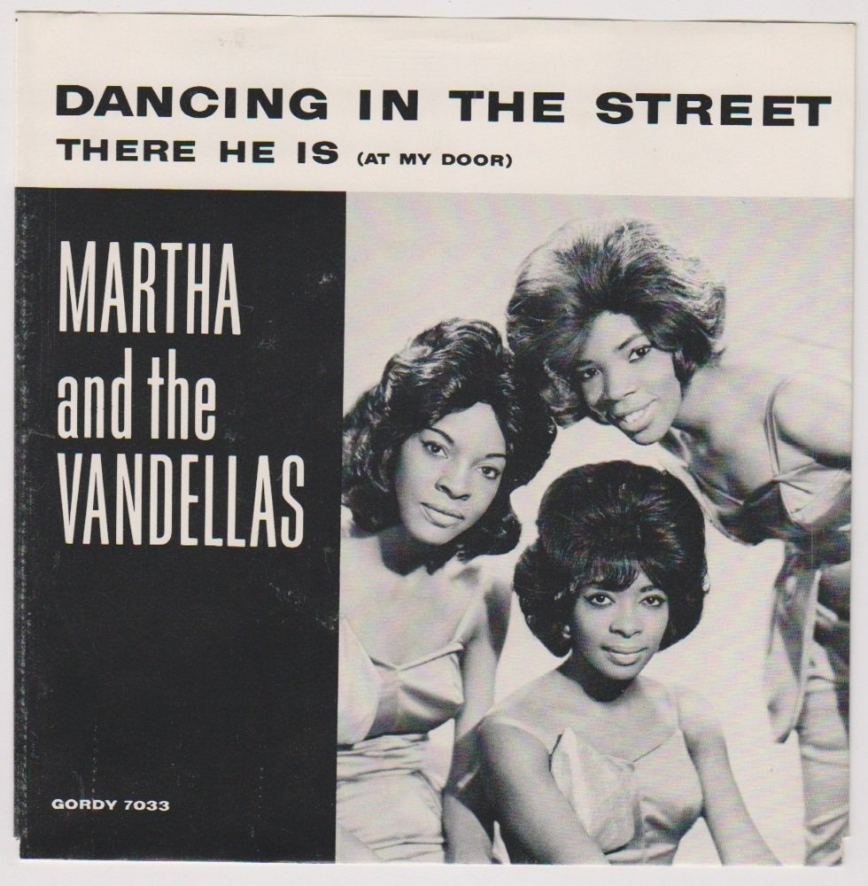 Cover art for Dancing in the Street by Martha Reeves & The Vandellas