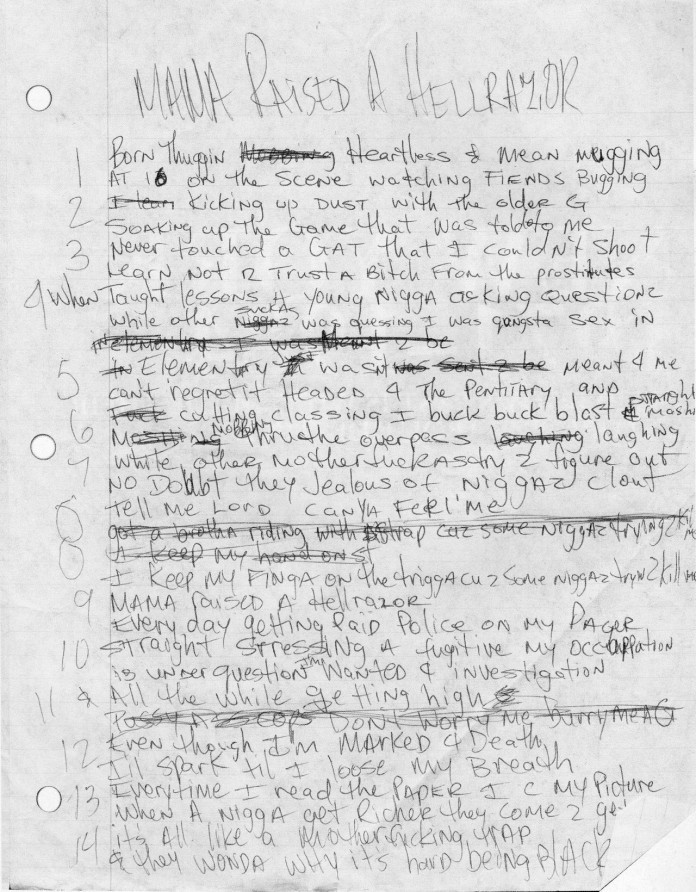 2Pac – Hellrazor Lyrics | Genius Lyrics