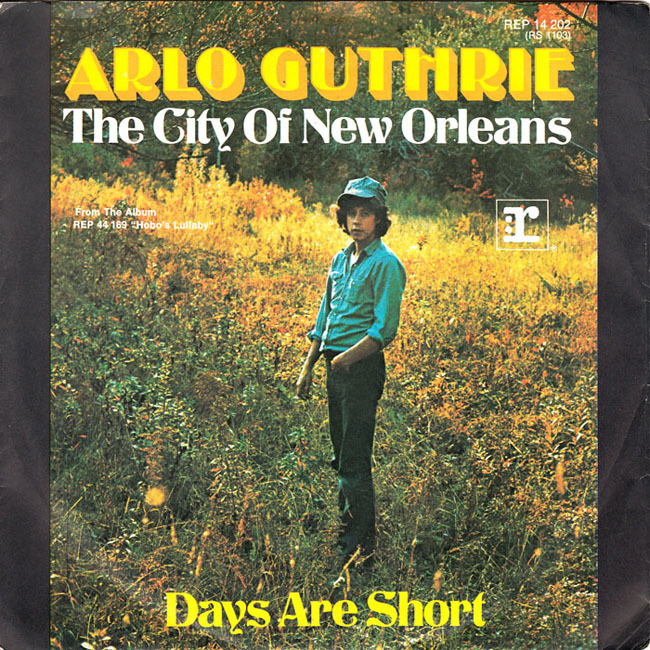 Image result for city of new orleans arlo guthrie