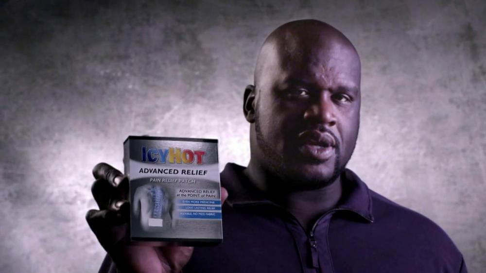 "Shaq has done quite a few ads for pain creams in the past. Young Thug just  calling out his competition for being ""sus."