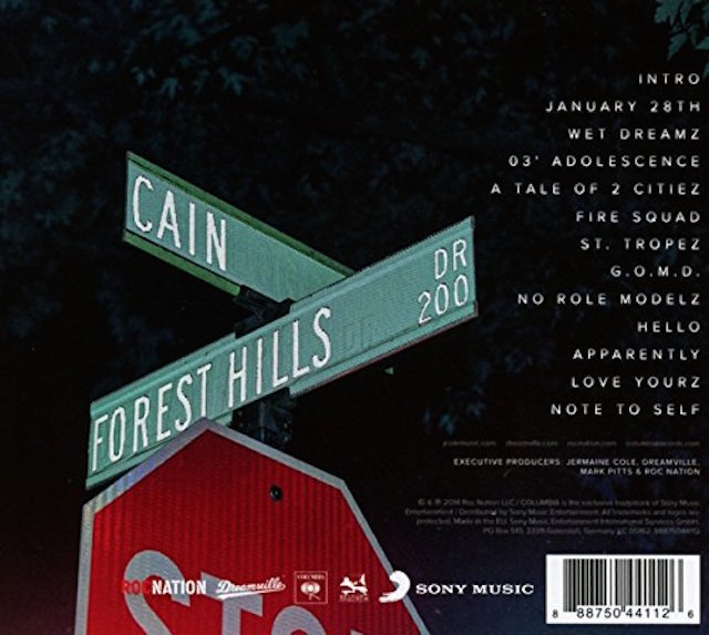 J. Cole – 2014 Forest Hills Drive [Credits] Lyrics | Genius Lyrics
