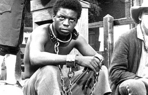 Black young men boys slaves