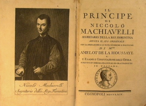 A report on the prince by niccolo machiavelli