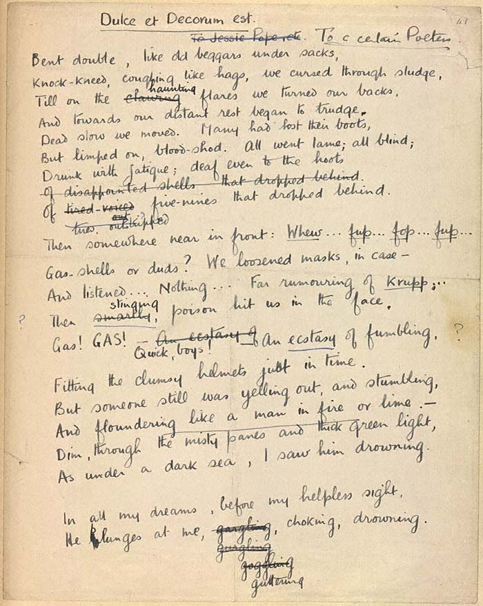 wilfred owen and siegfried sassoon essay Below is an essay on suicide in the trenches (1917) - siegfried sassoon from anti essays sassoon vs owen sigfried sassoon essay war poetry and wilfred owen.