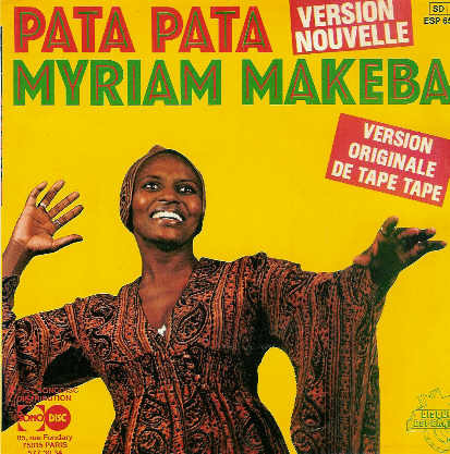 Miriam Makeba Pata Pata The Hit Sound Of Miriam Makeba