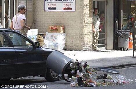 Hit A Trash Can With My Car