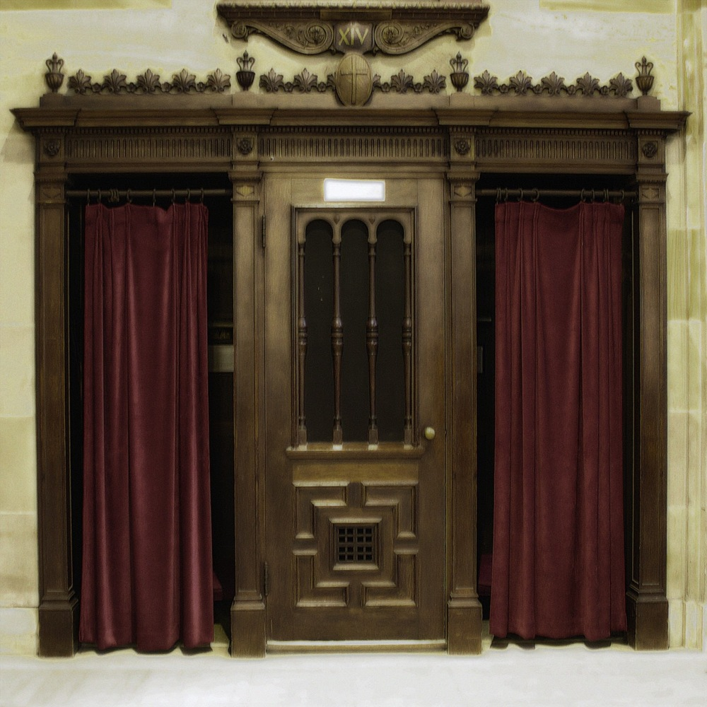 catholic confessional - HD1024×1024