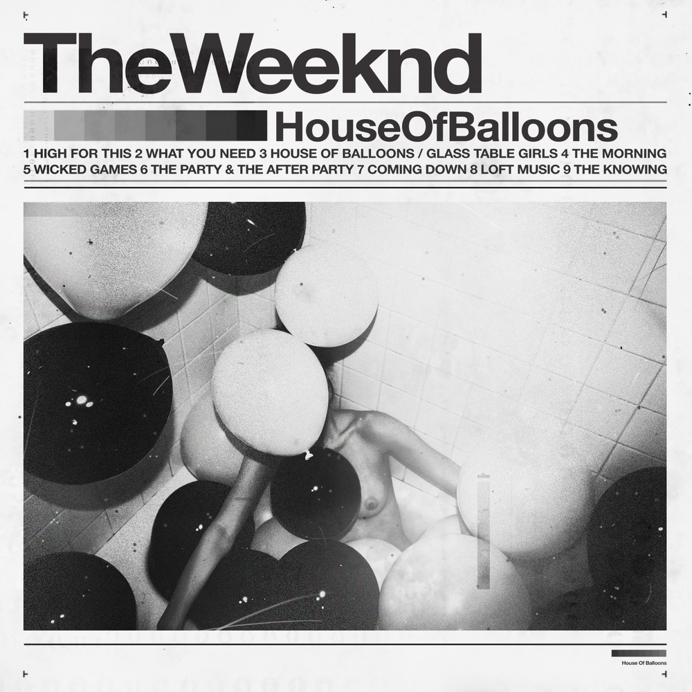 The weeknd house of balloons tracklist album art for House of tracks