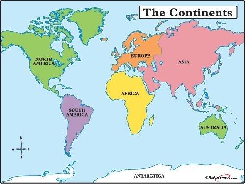 NAME YOUR FAVORITE ARTIST FROM EACH CONTINENT Genius - Name of continents