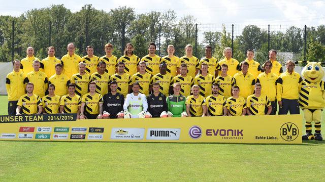BoruГџia Dortmund Kader