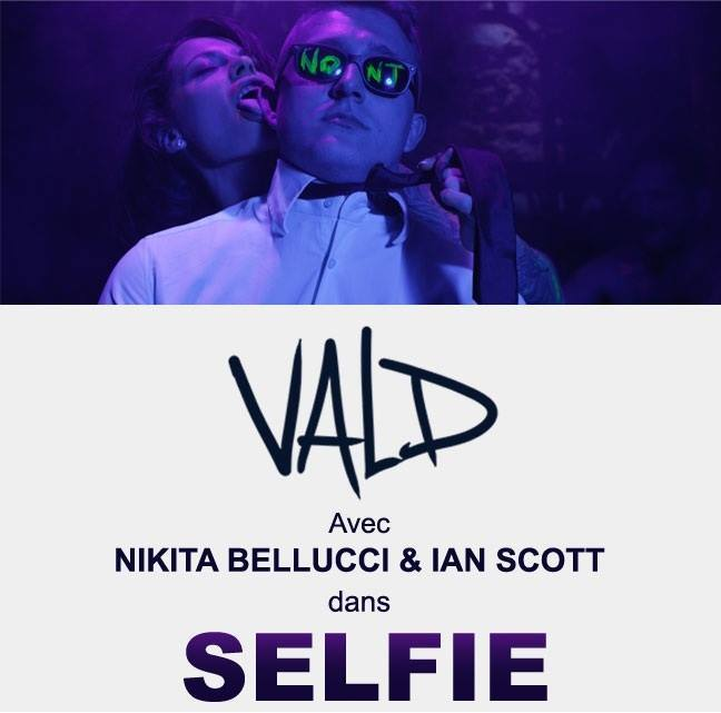Selfie de vald avec nikita bellucci et ian scott - 2 part 2