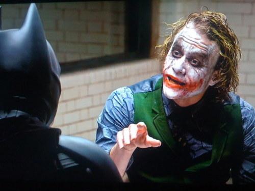 Christopher Nolan – The Dark Knight: Interrogation Scene   Genius
